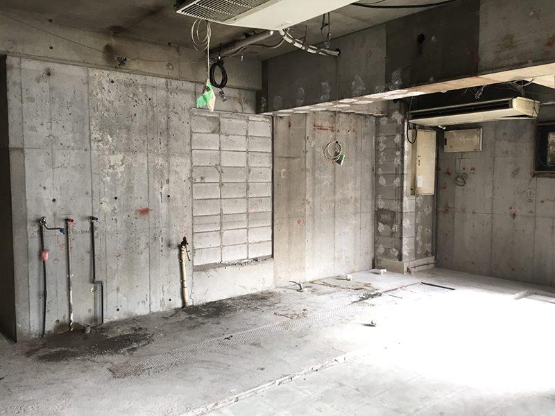 パン屋の店舗解体-その2