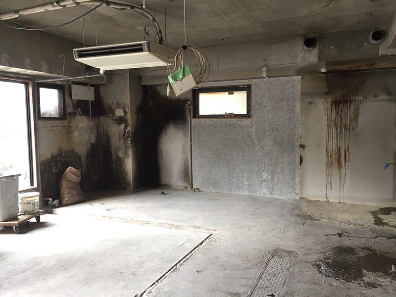 パン屋の店舗解体-その1