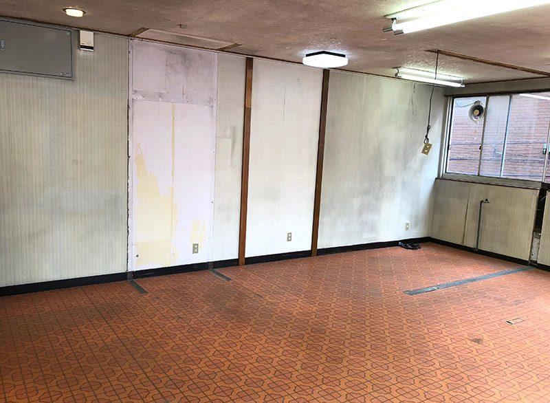 美容室の解体-施工後1