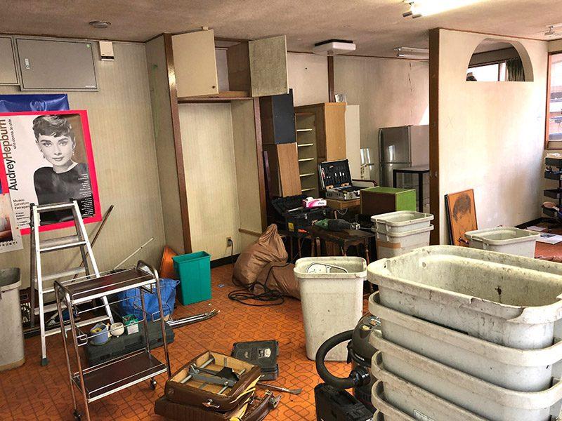 美容室の解体-施工前1
