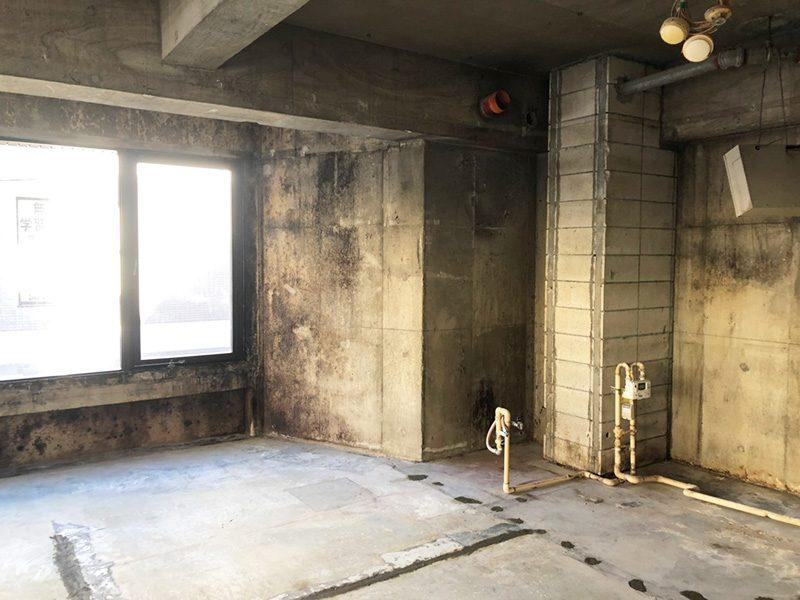 美容室解体施工後4