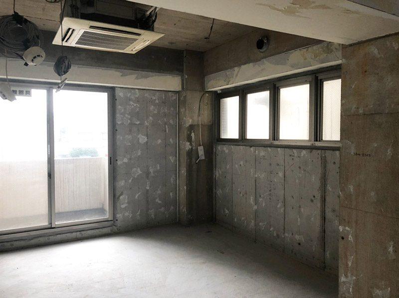 美容室解体施工後2