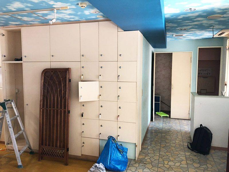 美容室解体施工前3