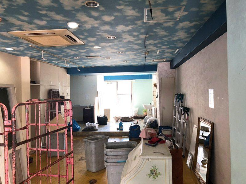 美容室解体施工前1