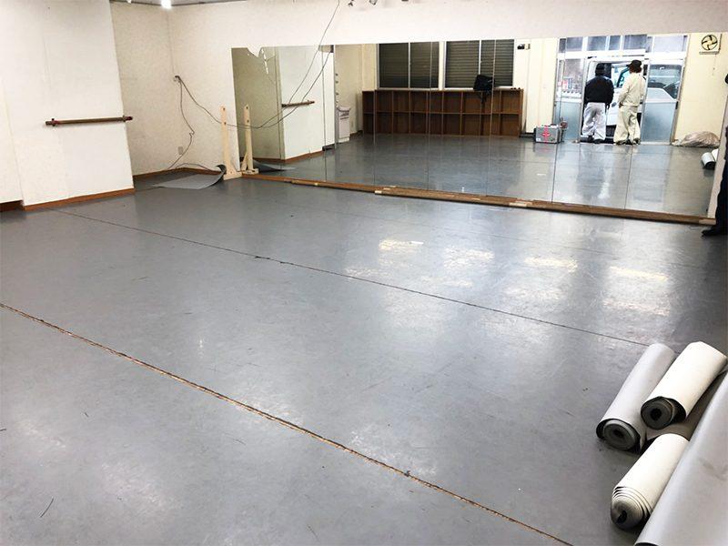 ダンススタジオ解体工事-施工前3