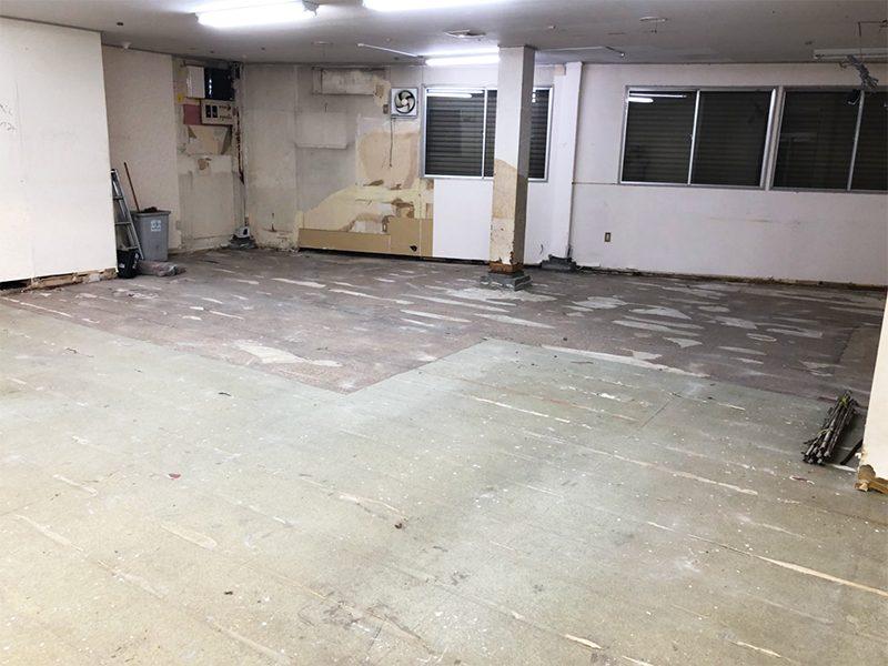 ダンススタジオ解体工事-施工後3
