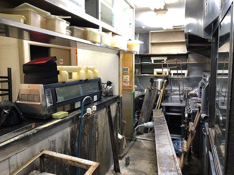 飲食店の解体-施工前4
