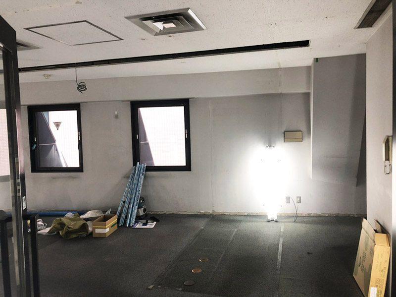 オフィス解体施工後1