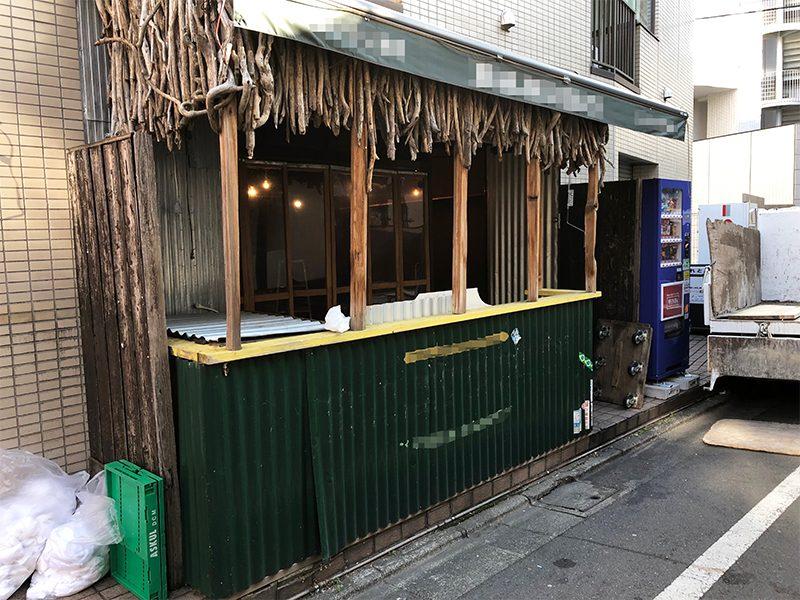 飲食店の解体-施工前3