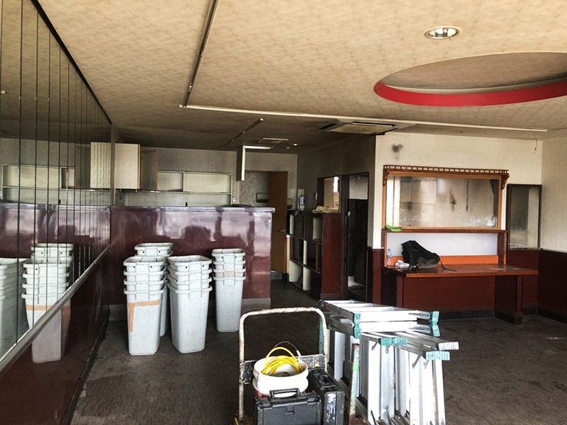 飲食店解体工事施工前1