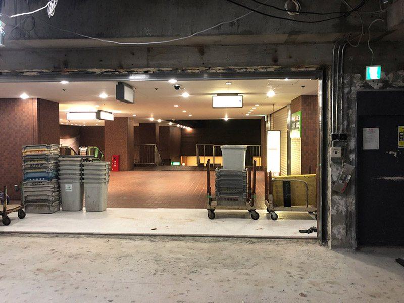 大型商業施設内の店舗解体-施工後1