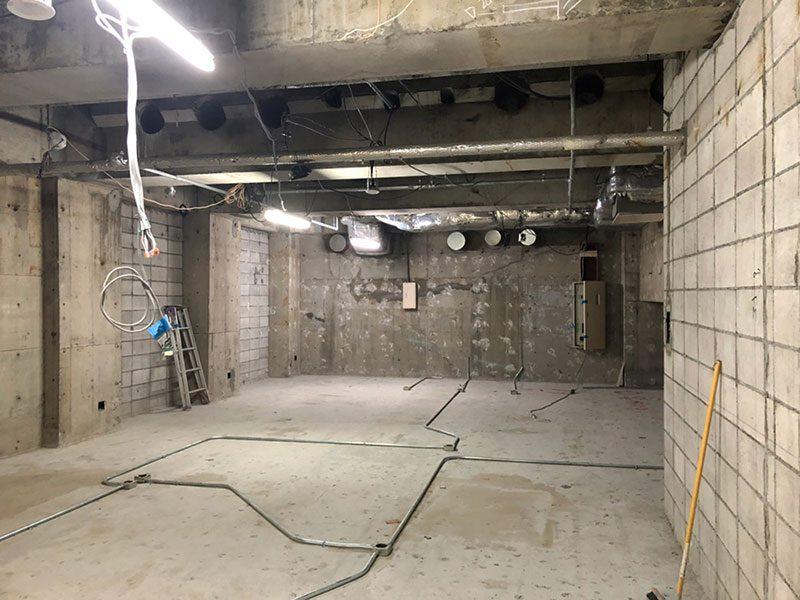 大型商業施設内の店舗解体-施工後3