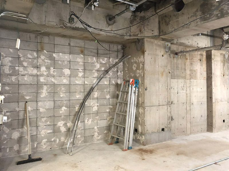 大型商業施設内の店舗解体-施工後4