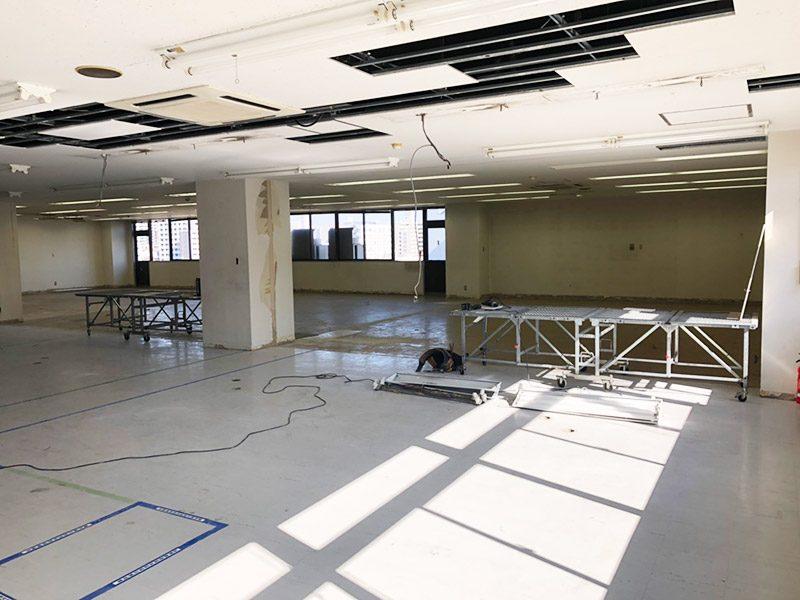倉庫内オフィス施工後1