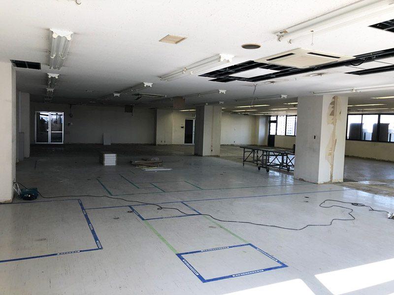 倉庫内オフィス施工後2