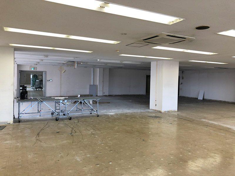 倉庫内オフィス施工後3