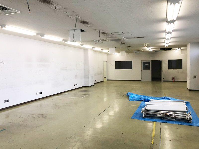 倉庫内オフィス施工前4