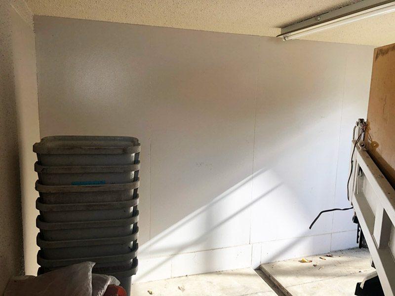 防音室解体施工前2