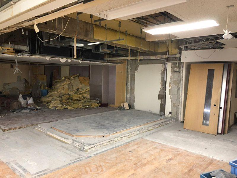 スタジオ解体施工後1