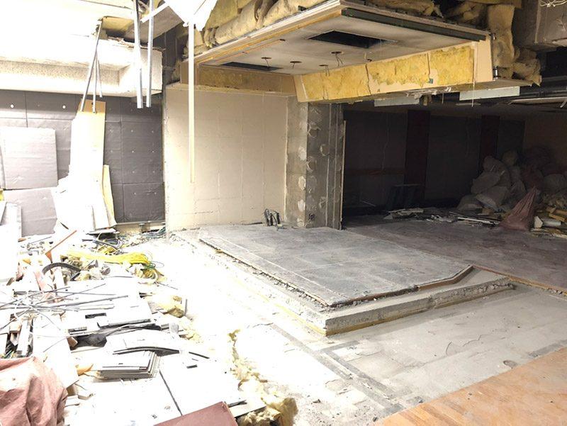 スタジオ解体施工後2