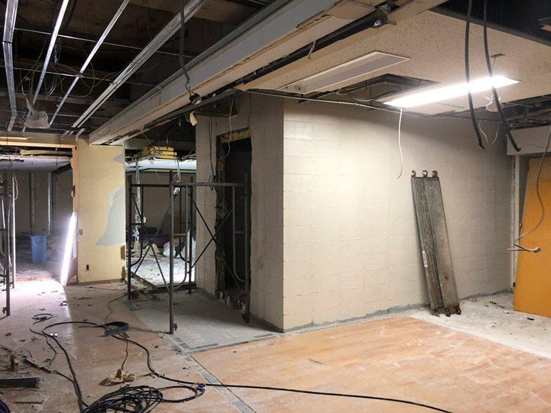 スタジオ解体施工前1
