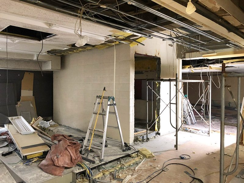 スタジオ解体施工前2