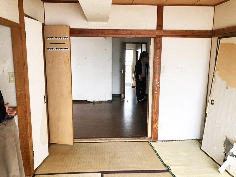 マンションスケルトン工事-1-before